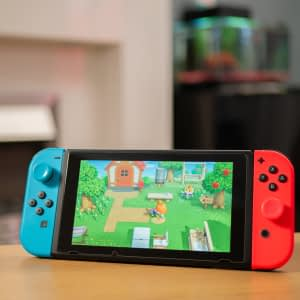 Nintendo Switch System with Animal Crossing Game